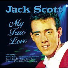 JACK SCOTT - MY TRUE LOVE (NEW SEALED CD)
