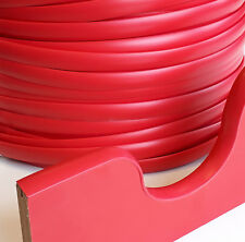 RED T TRIM EDGING SINGLE LIPPED FOR 15MM FURNITURE BOARD 20 METERS
