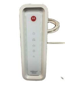 Motorola Surfboard SB6141 DOCSIS 3.0 High-Speed Cable Modem- White Used w/ cable