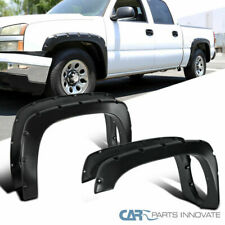 99-07 Silverado 99-06 Sierra Pickup 4PC Pocket Rivet Bolt-On Style Fender Flares