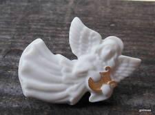 "Lenox Ceramic Angel with Lyre 2"" Pin"