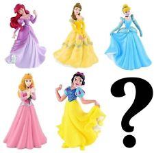 New Bullyland Disney Princess Plastic Figures 5 pk + 1 FREE Mystery Figure