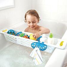 Munchkin: Flexible Badewannen Ablage Badekorb für Kinder Wannenaufsatz Behälter