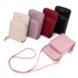 Handytasche Umhängetasche Geldbörse Crossbody Damentasche Smartphone Schulter
