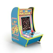 New ListingMs. Pac-Man Arcade1Up Counter-Cade 4 Games in 1 Tabletop Design Cabinet Machine