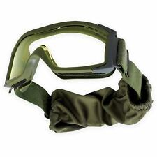 NEW Bolle Tactical X1000 Ballistic Safety Military Army Goggles Clear Lens Green