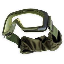 BOLLE Tactical X1000 Ballistic Occhiali di Sicurezza Militare dell'Esercito Verde Lente Trasparente