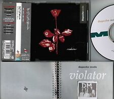 DEPECHE MODE Violator JAPAN CD PCCY-00559 w/OBI+13-p BOOKLET Pony Canyon reissue