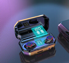 Mini Bluetooth 5.1 Headset Tws Wireless Earphones Stereo Bass Earbuds Headphones