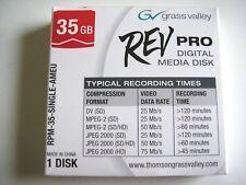 More details for rev disk - grass valley rev pro 35 gb digital media disk - sealed