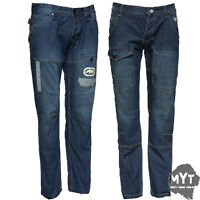 ECKO DAIMLER AND SOVEREIGN STAR MENS JEANS TIME IS G MONEY DENIM TROUSERS