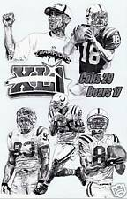 Indianapolis Colts superbowl champions photo poster sketch ART