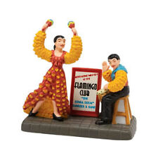 DEPT 56 CHRISTMAS IN THE CITY THE FLAMINGO REVUE NRFB
