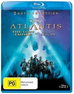 Atlantis - The Lost Empire / Milo's Return (Blu-ray) NEW/SEALED
