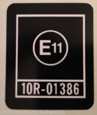 "KAWASAKI AR80 AR50 ""E11"" DECAL HEADSTOCK DECAL"