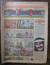 "Comic Newspaper April 1975 ""The Funny Papers"" George Harrison Madison Square MSG"