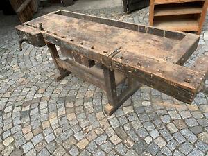 5/9/921  Arbeitstisch Esstisch Küchentisch Werkbank Hobelbank antik
