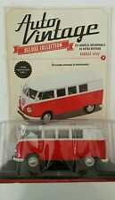 VOITURE MINIATURE 1/24 COMBI VOLKSWAGEN TYPE 2 COLLECTION AUTO VINTAGE