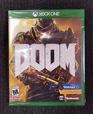 Doom (Microsoft Xbox One, 2016) - Walmart Edition w/ UAC Skin & Demon Pack