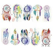 Nail Art Sticker Water Decals Transfer Stickers Mystical Dreamcatchers (BN302)