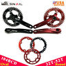 32-52T MTB Bike Crankset 170mm Crank 104bcd Chainring Narrow Wide Chainwheel CNC