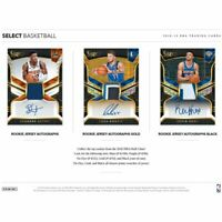 CLEVELAND CAVALIERS 2018-19 PANINI SELECT BASKETBALL 6 BOX HALF CASE BREAK #14