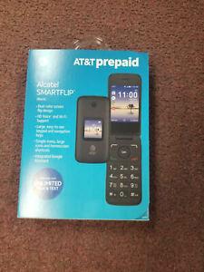 Alcatel Smart Prepaid Flip 4G Phone For at&t