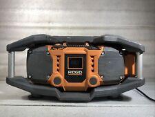 Ridgid R84083 X4 18-Volt Cordless Jobsite Radio W/ShockMount Technology*NO BATT*