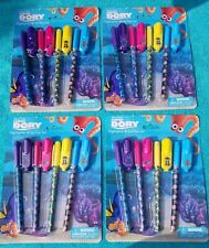 Lot of 4 Finding Dory Disney Pen & Highlighter Sets