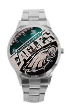 NFL Team Stainless Steel Watches (Eagles,Cowboys, Patriots, Raiders, Steelers)