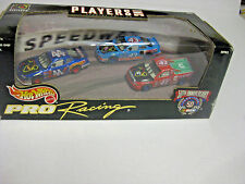 HOT WHEELS - 50th A PRO-RACING NASCAR PLAYERS INC SPECIAL ED 3 car set (HW240