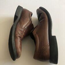 Clarks Men's Size 11 Leather slip on loafer Brown Shoe