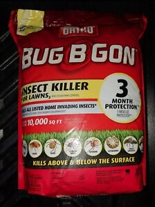 Ortho Bug-B-Gon Max Insect Killer for Lawns; Can be used around Vegetables 10lbs