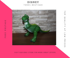 Very LARGE Disney Toy Story Rex Collectable  Talks and Arms Move WORKING TESTED
