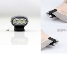 Durable Mini 3 LED Clip On Hat Bright Light Cap Lamp Flashlight Fishing Camping