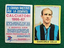 CALCIATORI 1966/67 66/1967 ATALANTA CELLA , Figurina Sticker Panini (NEW)