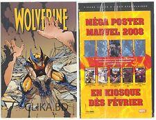 WOLVERINE N°169 -C/NEUF-2008-/ JAMAIS OUVERT + MEGA POSTER DELL'OTTO -S/BLISTER