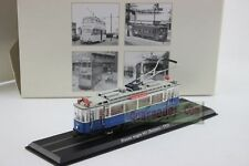 1:87 HO Scale ATLAS 1929 Blauwe wagen 465 Beijnes Blue Tram Model