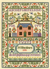 Bothy Threads Cross Stitch Kit - Country Cottage