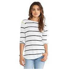 360 pull à rayures en lin top sweater small