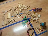 Brio wooden Thomas train track set - over 200 pieces