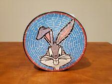 Vintage Warner Bros Bugs Bunny Mosaic 500 Pcs Circle Jigsaw Puzzle Looney Tunes