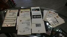 Large Lot of Porsche Service Manuals Wiring Ac Cabriolet