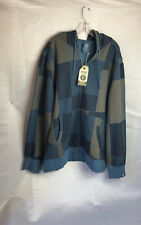 Oxbow Hoodie Zipper Front 100 Organic Cotton Sz 3 XL Mens New NWT