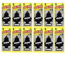 12 x Black ICE Scent Magic Tree Little Trees Car Home Air Freshener Freshener