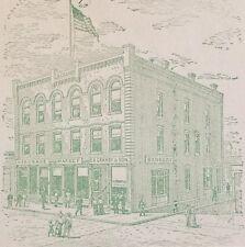 1804 NY New York MAP Fenton Geddes German Flatts Glenville Granby HISTORY HUGE