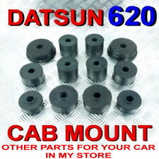 DATSUN 620 CAB MOUNTING RUBBER CABIN BUSHING COMPLETE SET FIT PICKUP KING CAB