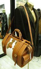 Große Reisekoffer Reisetasche echt Leder handgefertigt Arzttasche Doktor Hebamme
