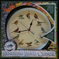 Mark Feldstein 13 Inch Green Original Singing Bird Clock NIB