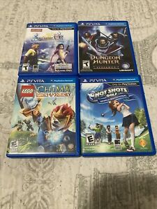 Lot Of 4 PS Vita Games- Dungeon Hunter, Final Fantasy, Dungeon Hunter, And More!